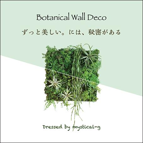 Botanical Wall Deco ボタニカルウォールデコ